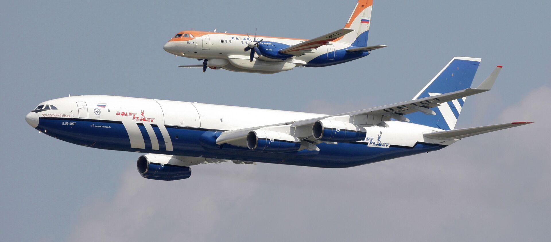 Ил-96-400Т და Ил-114  - Sputnik საქართველო, 1920, 26.07.2021
