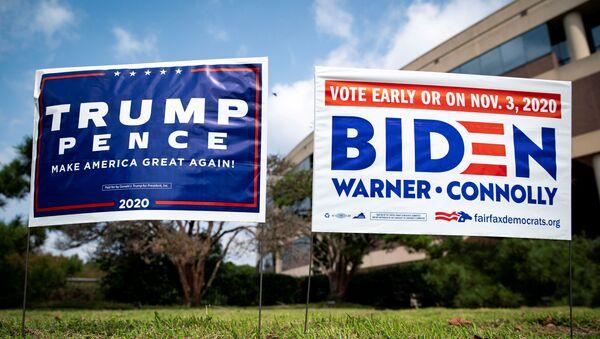 Плакаты на выборах в США - Sputnik Грузия