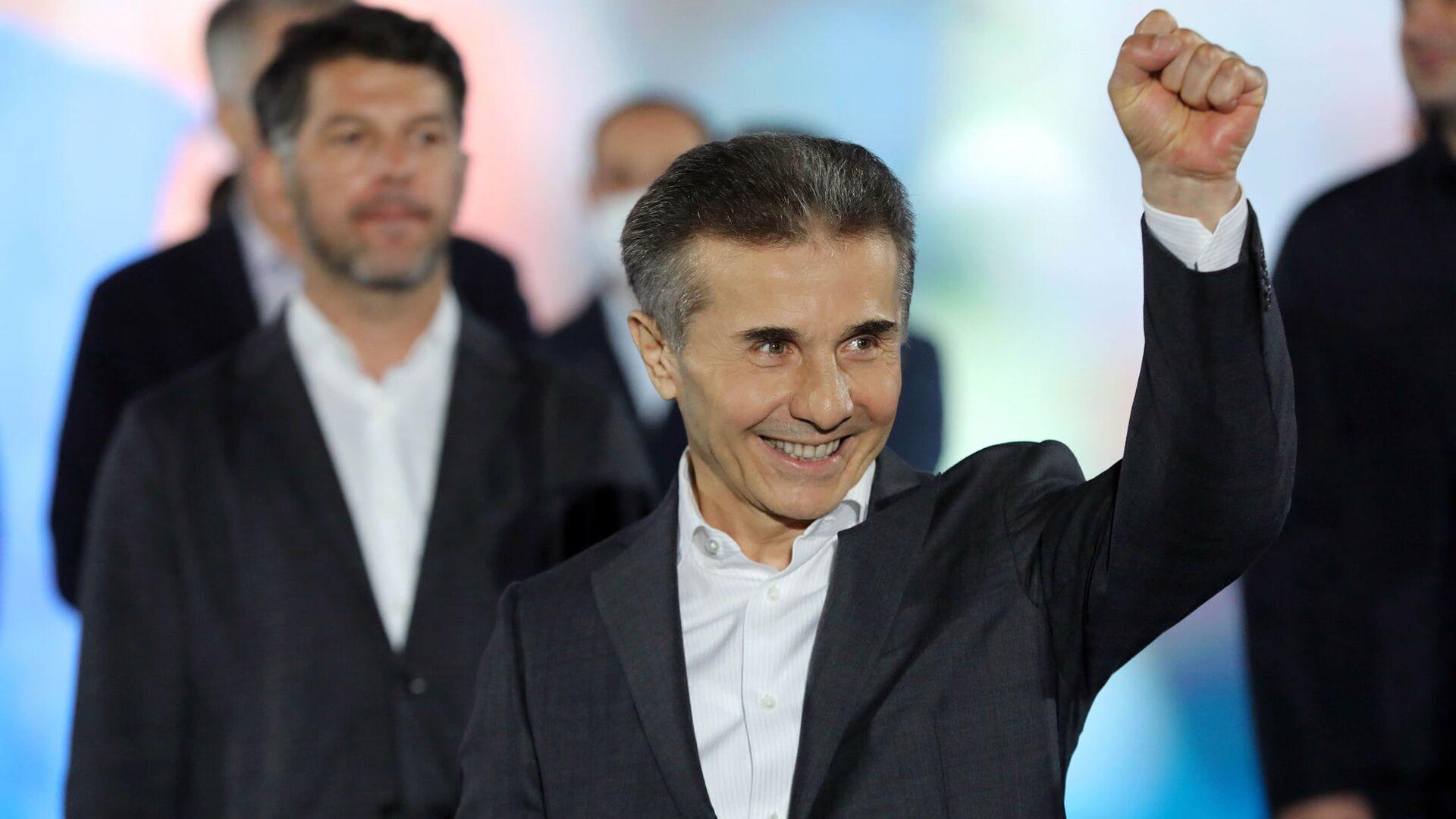 Бидзина Иванишвили, основатель партии Грузинская мечта - Sputnik Грузия, 1920, 04.10.2021