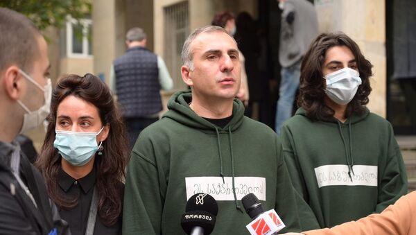 Алеко Элисашвили принимает участие в выборах - Sputnik Грузия