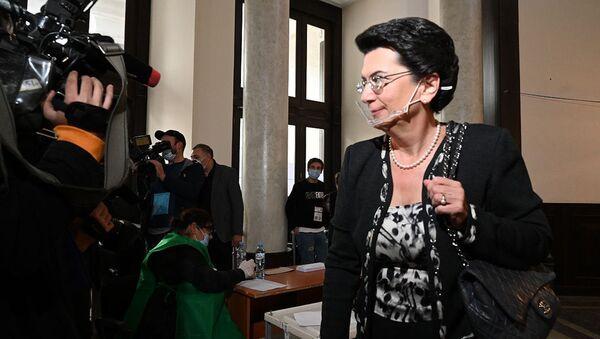Нино Бурджанадзе, Демократическое движение - единая Грузия, принимает участие в парламентских выборах - Sputnik Грузия