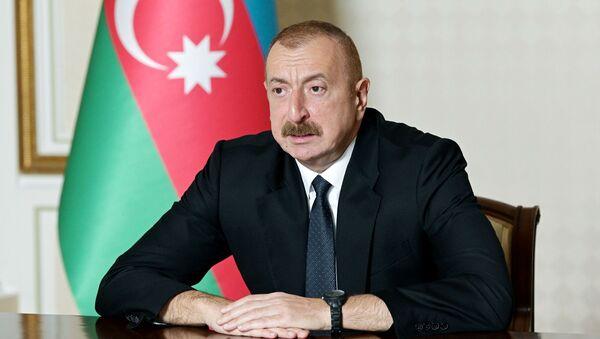 Президент Азербайджана Ильхам Алиев - Sputnik Грузия