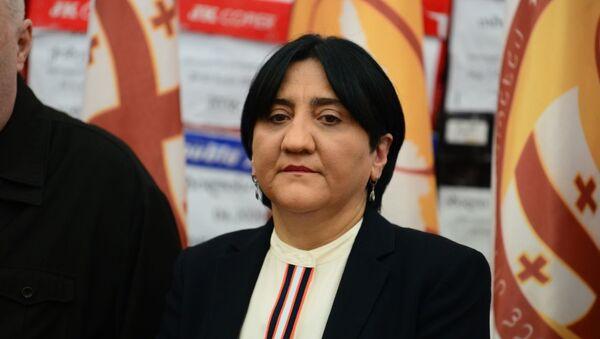 ირმა ინაშვილი - Sputnik საქართველო
