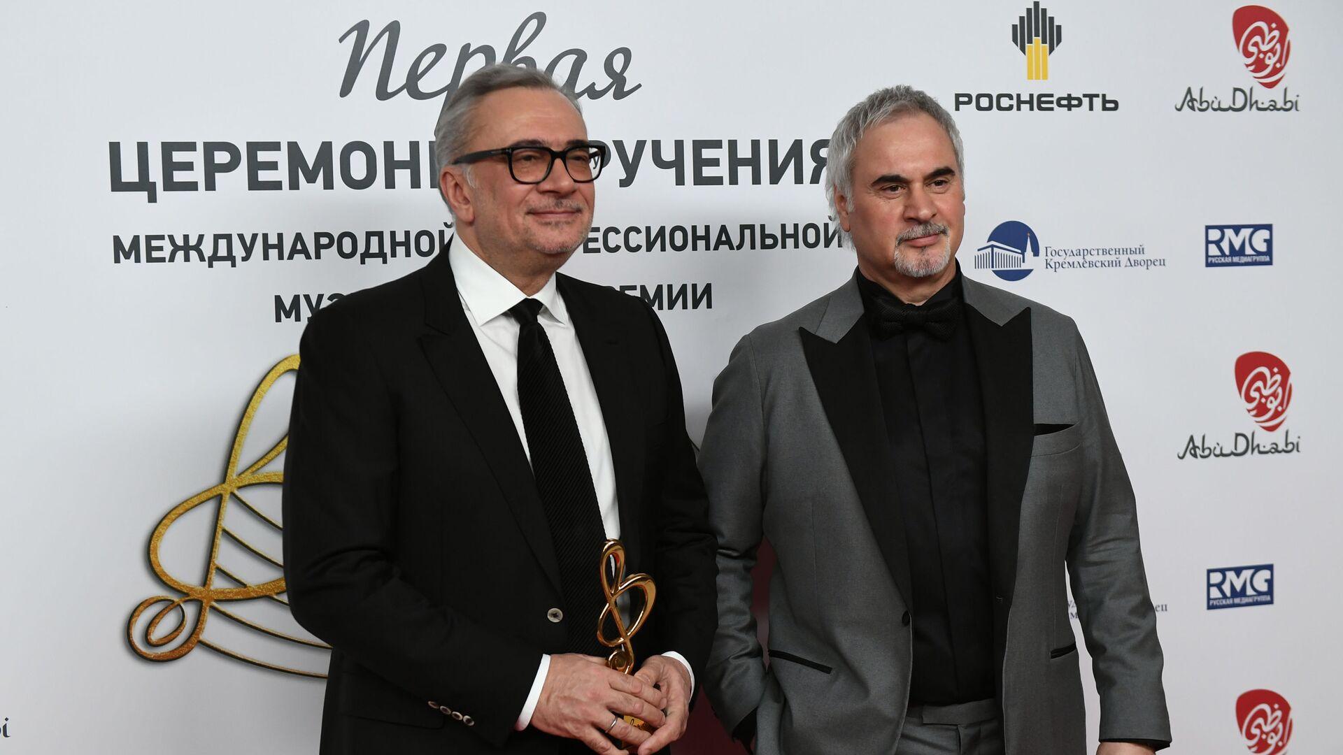Композитор Константин Меладзе (слева) и певец Валерий Меладзе - Sputnik Грузия, 1920, 18.02.2021