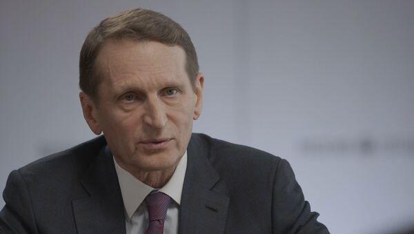 Зачем Запад расшатывает ЕАЭС и ОДКБ - эксклюзив Нарышкина Дмитрию Киселеву - Sputnik Грузия