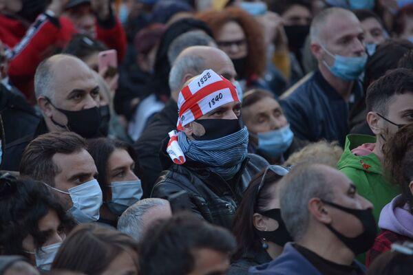 Ведь акция протеста длилась долгие часы - Sputnik Грузия