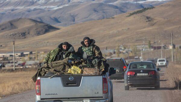 Нагорный Карабах. Армянские военнослужащие - Sputnik Грузия