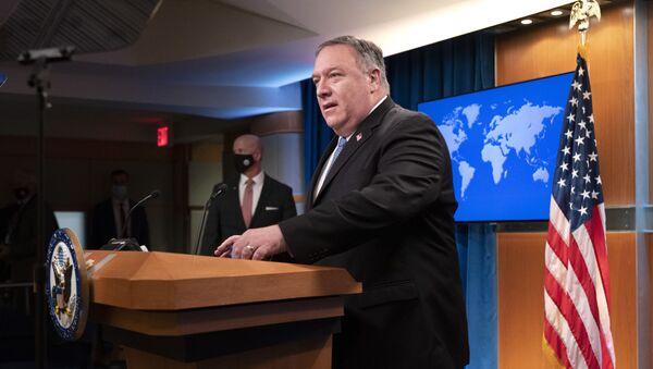 Госсекретарь США Майк Помпео - Sputnik Грузия