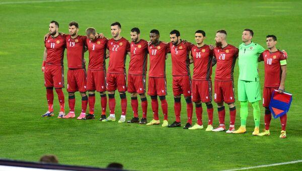 Сборная Армении по футболу. Матч между сборными Грузии и Армении - Sputnik Грузия