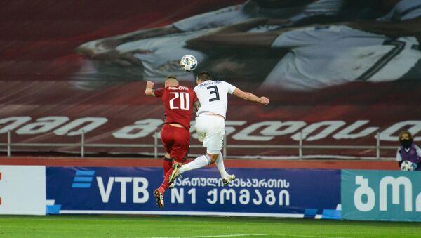 Матч между сборными Грузии и Армении по футболу - Sputnik Грузия