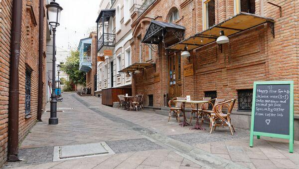 Тбилиси - старый город, частные отели, кафе и рестораны - Sputnik Грузия