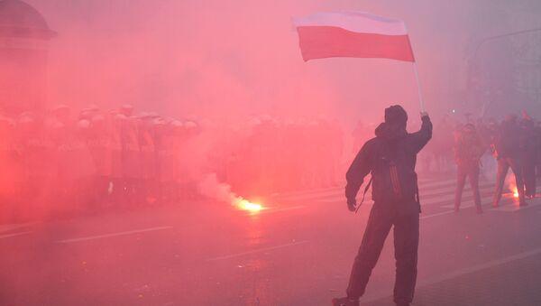 Марш националистов в Варшаве - Sputnik Грузия