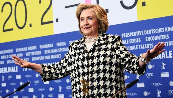 Бывший государственный секретарь США и первая леди Хилари Клинтон - Sputnik Грузия