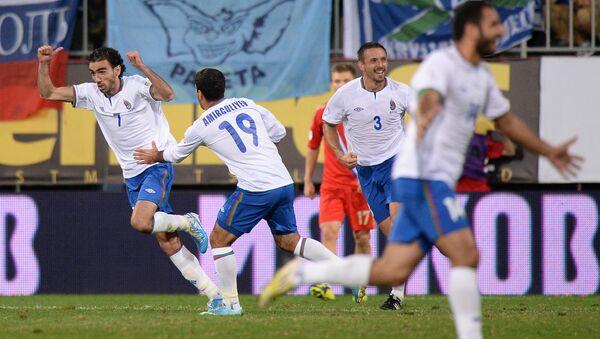 Игроки сборной Азербайджана - Sputnik Грузия