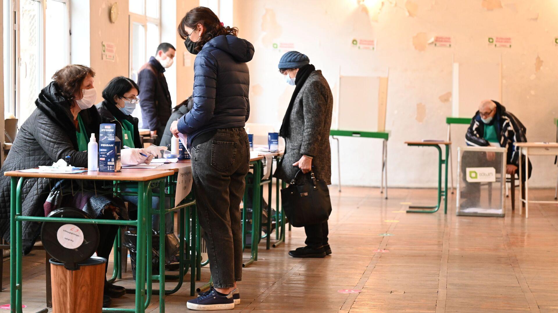 Парламентские выборы в Грузии - второй тур. 21 ноября 2020 года - Sputnik Грузия, 1920, 01.10.2021