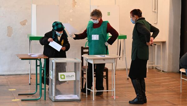 საპარლამენტო არჩევნების მეორე ტური. 21.11.2020 - Sputnik საქართველო