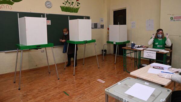 Парламентские выборы в Грузии - второй тур. 21 ноября 2020 года - Sputnik Грузия