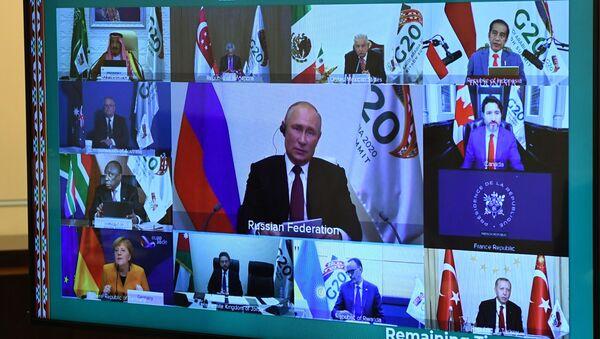 G20-ს ონლაინ-სამიტი - Sputnik საქართველო