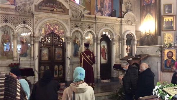Грузия празднует Гиоргоба, несмотря на коронавирус - видео - Sputnik Грузия