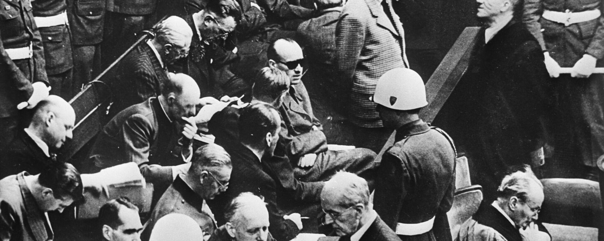 ნიურნბერგის პროცესი 1945-46 წლები - Sputnik საქართველო, 1920, 21.11.2020