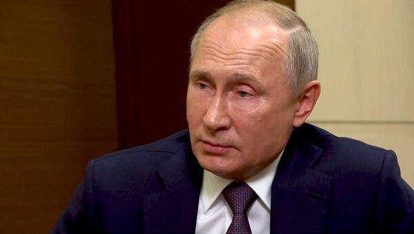 Путин рассказал, почему не поздравил Джо Байдена с победой на выборах - Sputnik Грузия