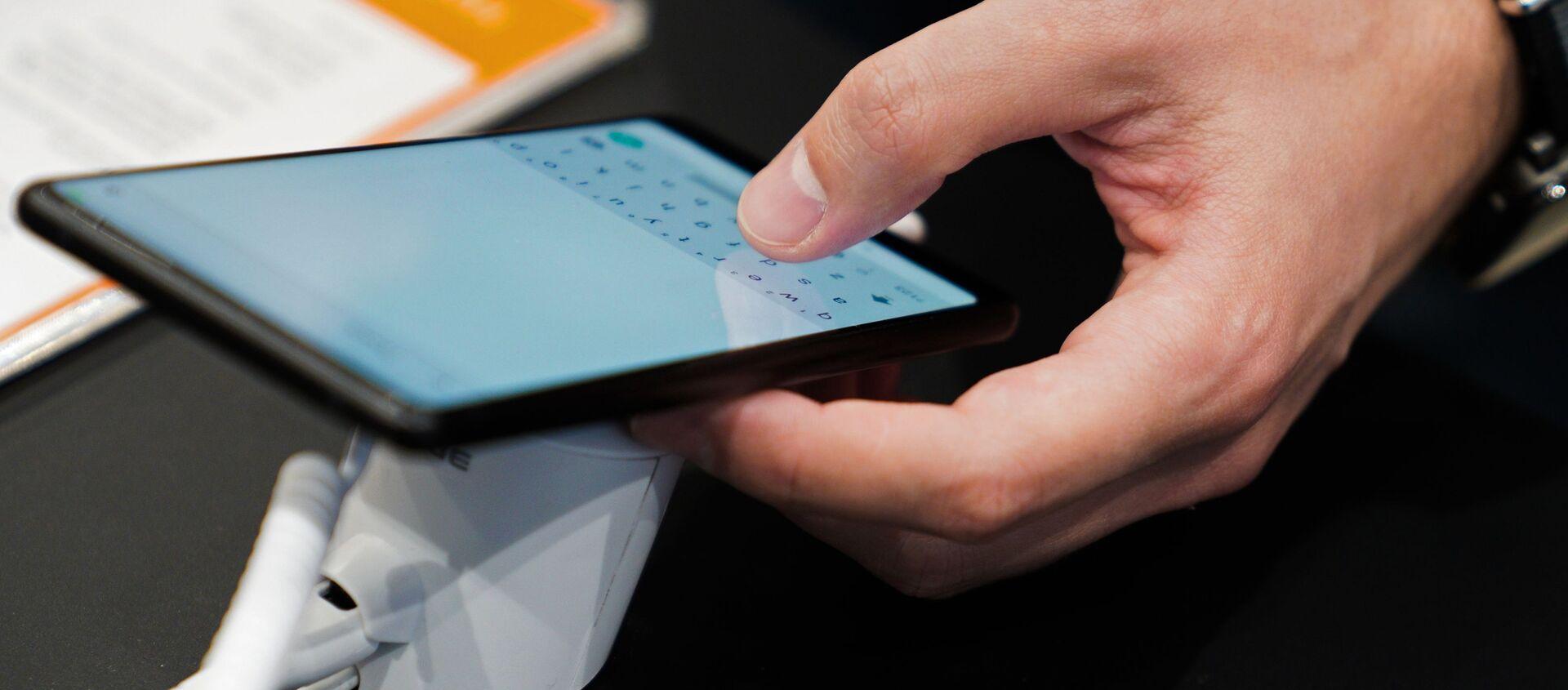 Смартфон Xiaomi  - Sputnik Грузия, 1920, 01.07.2021