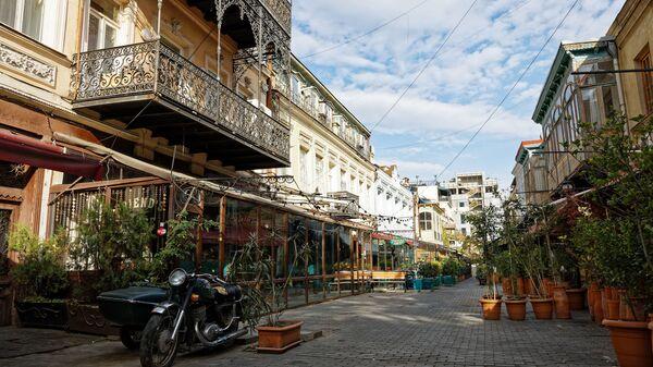 დაკეტილი რესტორნები ძველ თბილისში - Sputnik საქართველო