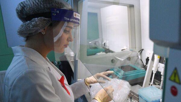 Медицинская лаборатория - проверка биоматериалов на ВИЧ и СПИД - Sputnik Грузия
