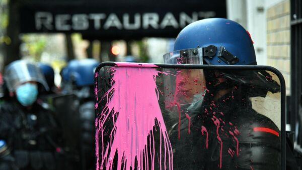 Протесты в Париже - Sputnik Грузия