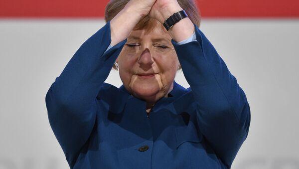 Канцлер Германии Ангела Меркель  - Sputnik Грузия