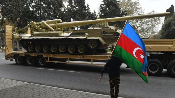 Репетиция военного парада в Баку - Sputnik Грузия
