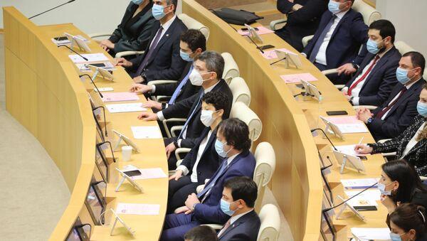 Правительство и власть. Парламент Грузии десятого созыва начал работу 11 декабря 2020 года - Sputnik Грузия