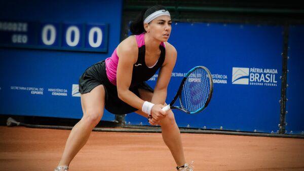Грузинская теннисистка Екатерина Горгодзе - Sputnik Грузия