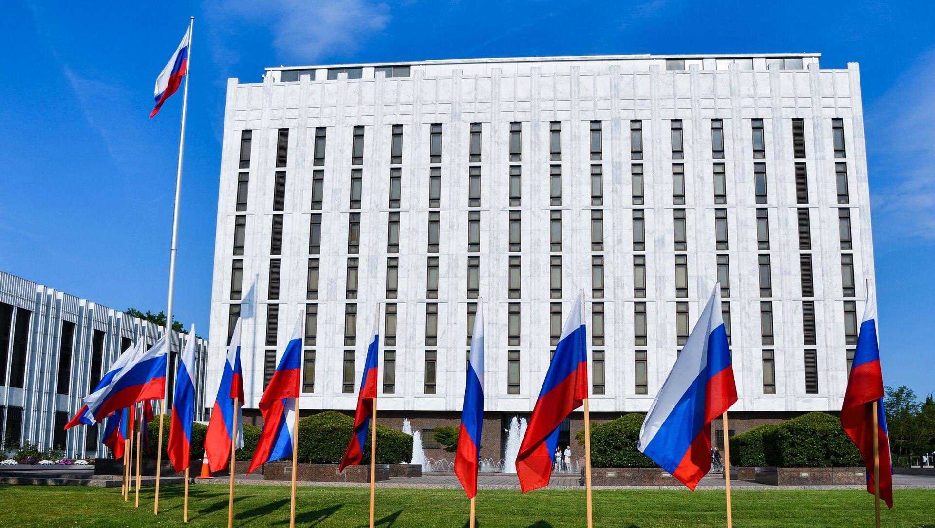 Посольство России в США - Sputnik Грузия, 1920, 13.04.2021