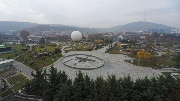 მოღრუბლული ამინდი თბილისში - Sputnik საქართველო