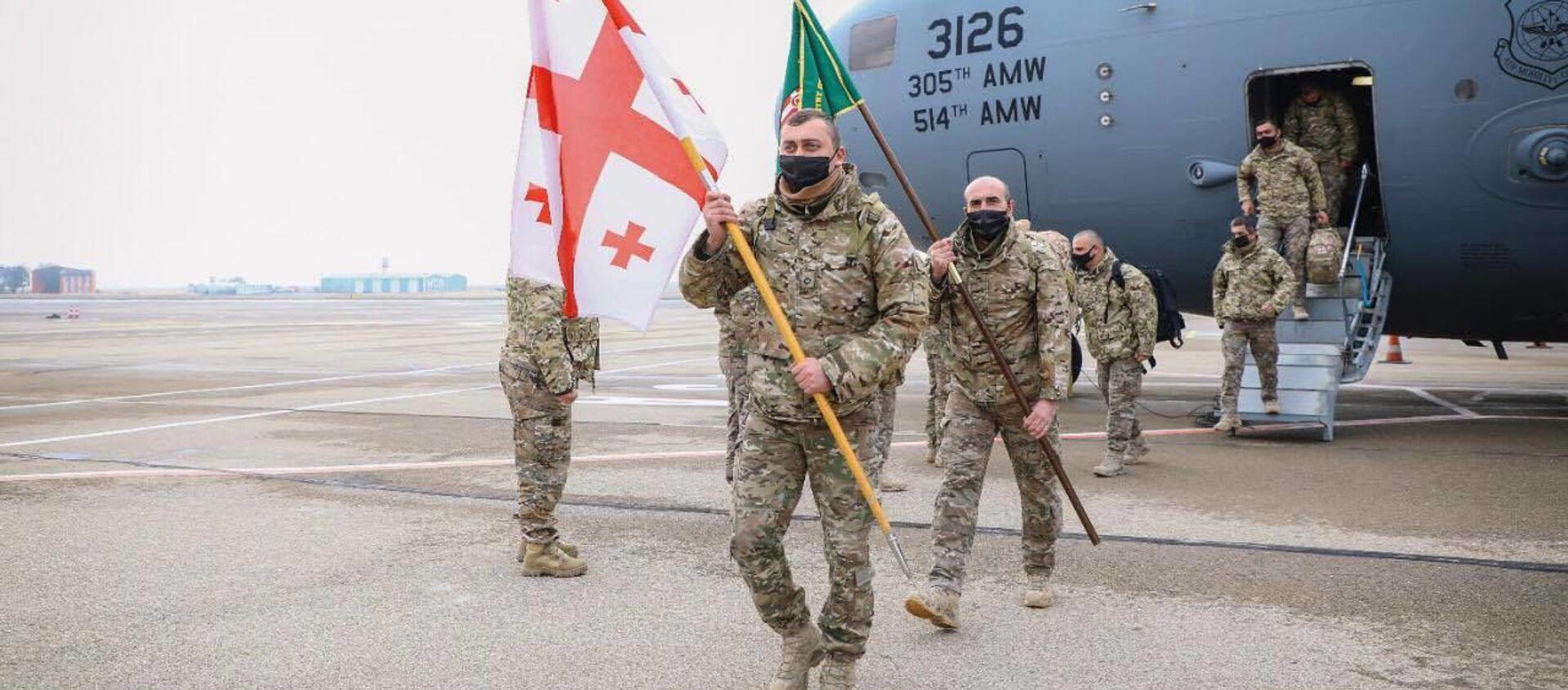 Грузинские миротворцы вернулись из Афганистана - Sputnik Грузия, 1920, 20.01.2021