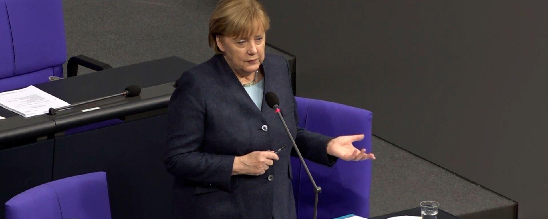 Меркель рассказала, какими хочет видеть отношения с Россией - Sputnik Грузия, 1920, 18.12.2020