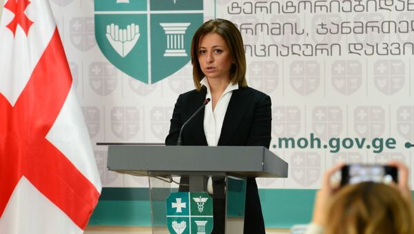 Екатерина Тикарадзе - Sputnik Грузия