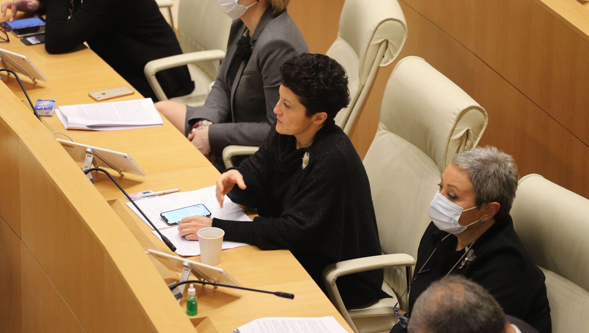 Депутаты. Заседание парламента Грузии 24 декабря 2020 год - Sputnik Грузия, 1920, 01.04.2021