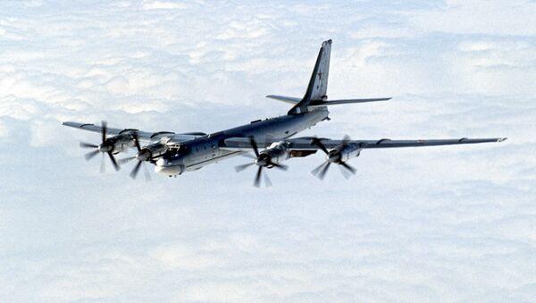 Стратегический бомбардировщик Ту-95 - Sputnik Грузия