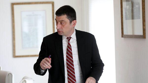 Премьер-министр Грузии Георгий Гахария - Sputnik Грузия