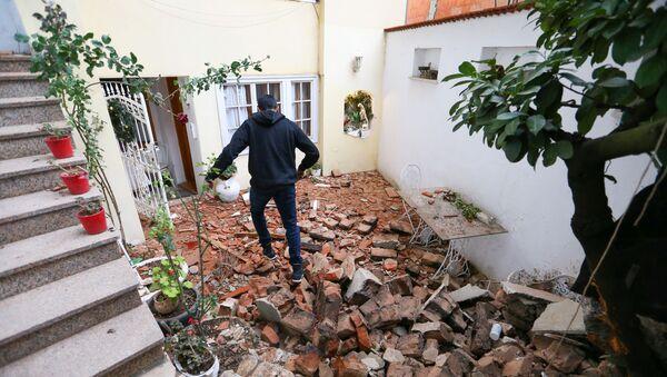 Последствия землетрясения в Хорватии - Sputnik Грузия