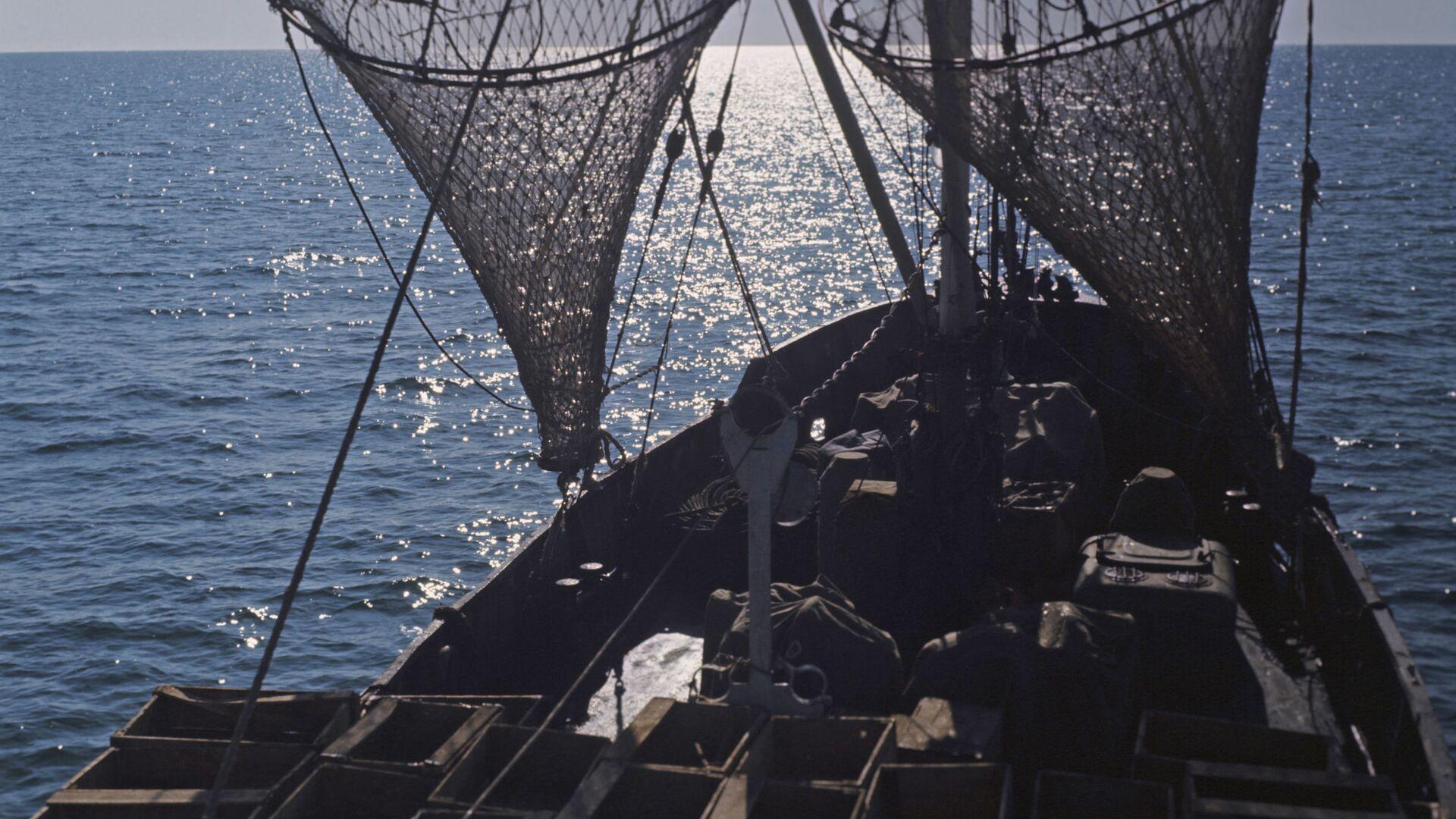 Рыболовное судно на промысле - Sputnik Грузия, 1920, 15.10.2021