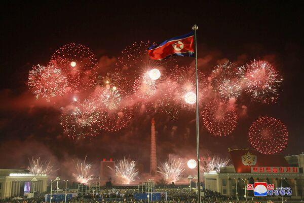 Пхеньян во время празднования Нового года - Sputnik Грузия