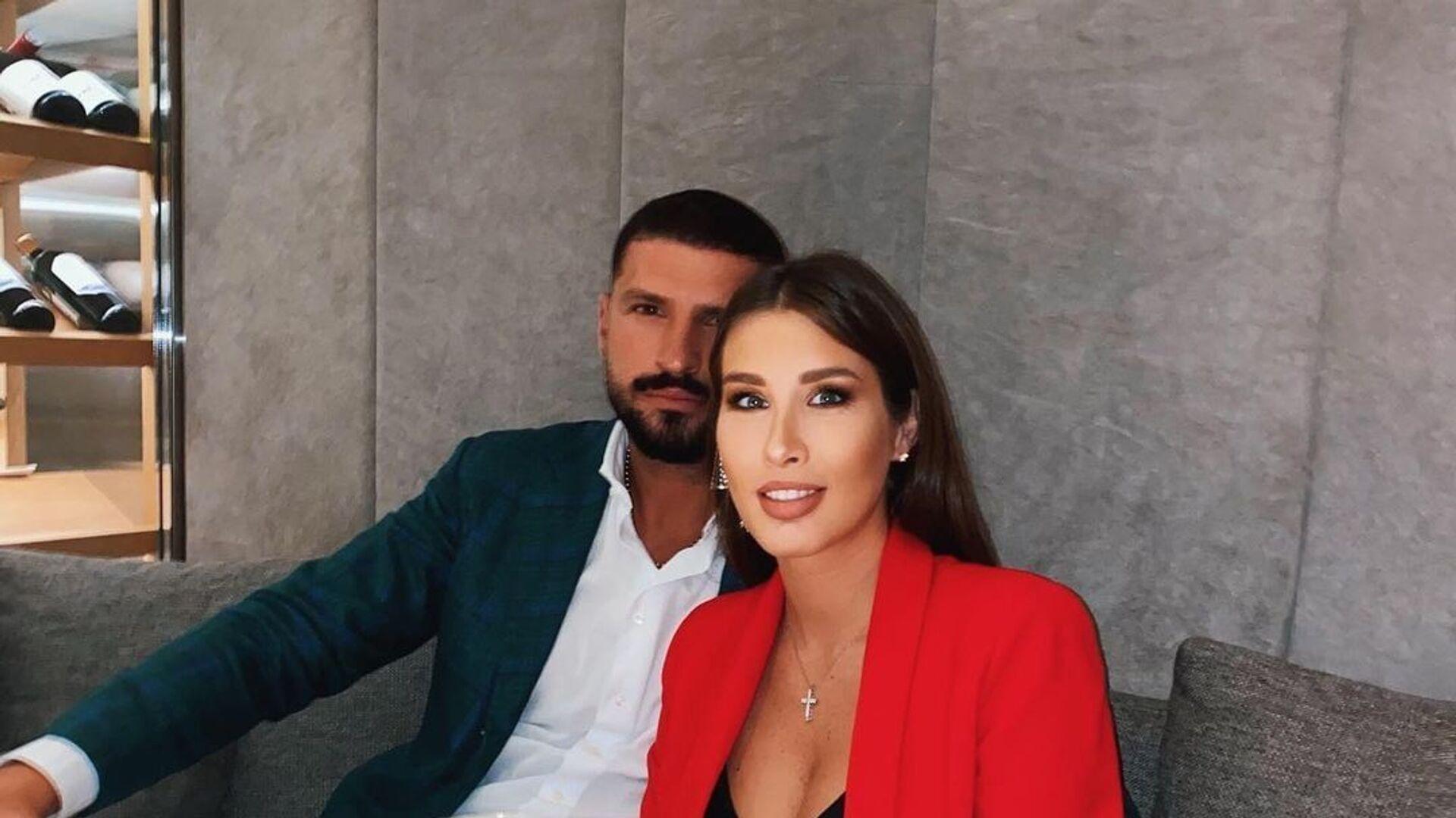 ქეთა თოფურია მეუღლესთან ერთად - Sputnik საქართველო, 1920, 07.10.2021