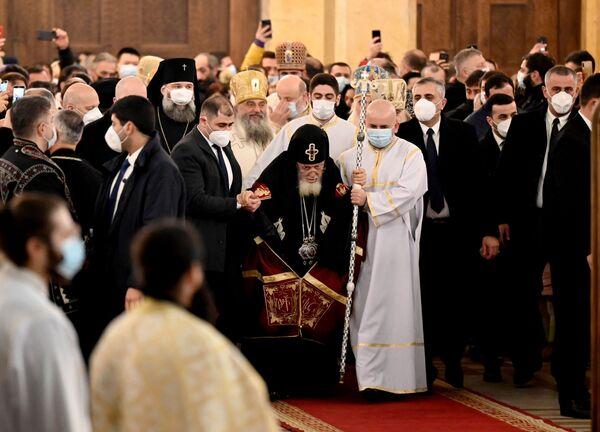 Рождественскую службу провел сам Католикос Патриарх Всея Грузии Илия Второй - Sputnik Грузия