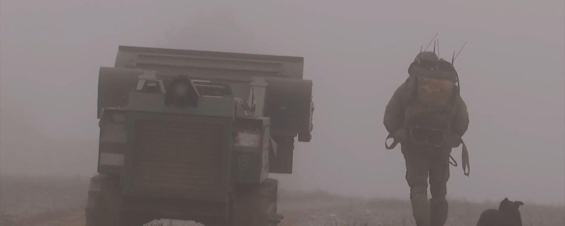 Нагорный Карабах: разминирование Степанакерта продолжается - видео - Sputnik Грузия, 1920, 09.01.2021