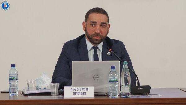 Ираклий Шотадзе - Sputnik Грузия