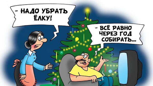 А вы елку уже убрали?  - Sputnik Грузия