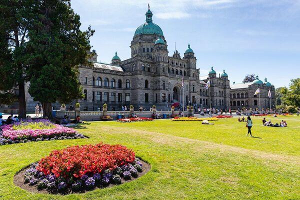 Виктория - город на крайнем западе Канады, столица провинции Британская Колумбия. Расположен на юго-восточном краю острова Ванкувер   - Sputnik Грузия